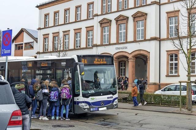 Mehrere Bushalte in der Stadt sollen barrierefrei werden