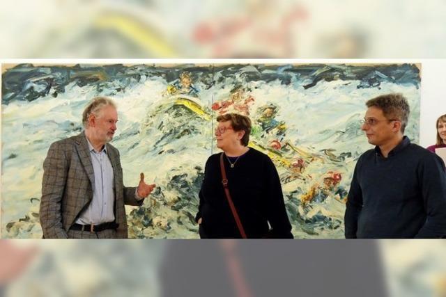Städtische Galerie und Kunstverein Offenburg zeigen das Werk von Ralph Fleck