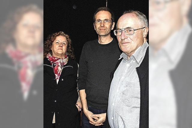 Die Grünen präsentieren drei Nachrücker