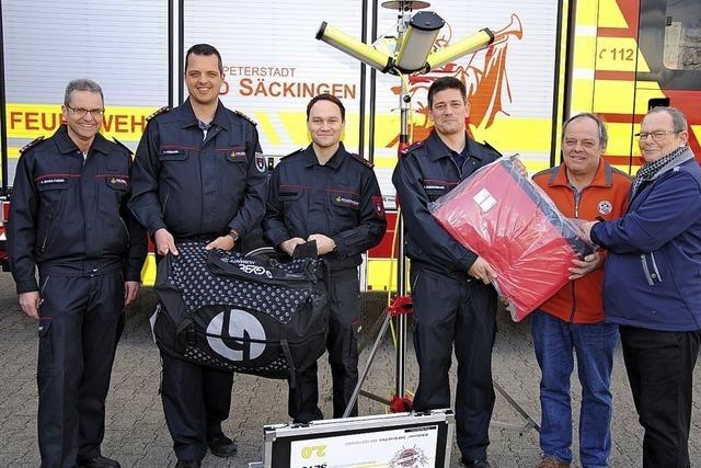 Feuerwehr Bad Säckingen ist gerüstet