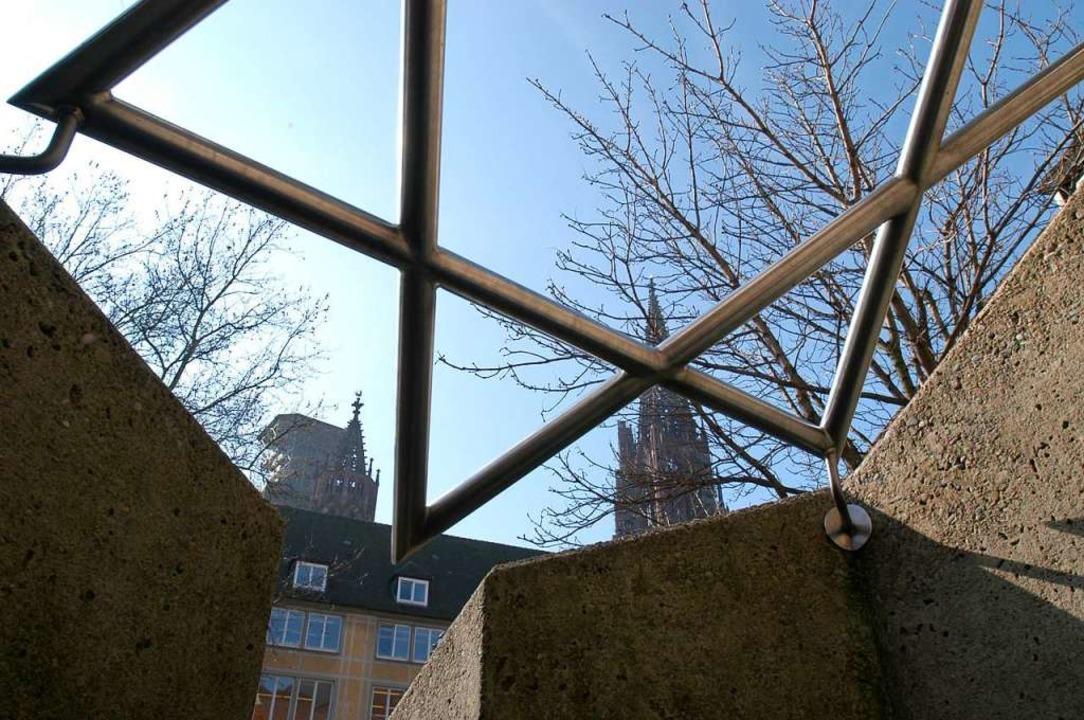 Symbolbild der Freiburger Synagoge (2003).  | Foto: Ingo Schneider