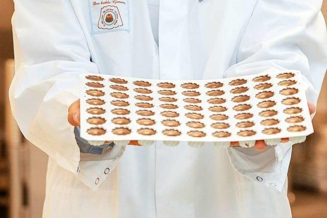 Erleben Sie, wie der Goufrais-Kakaokonfekt hergestellt wird!