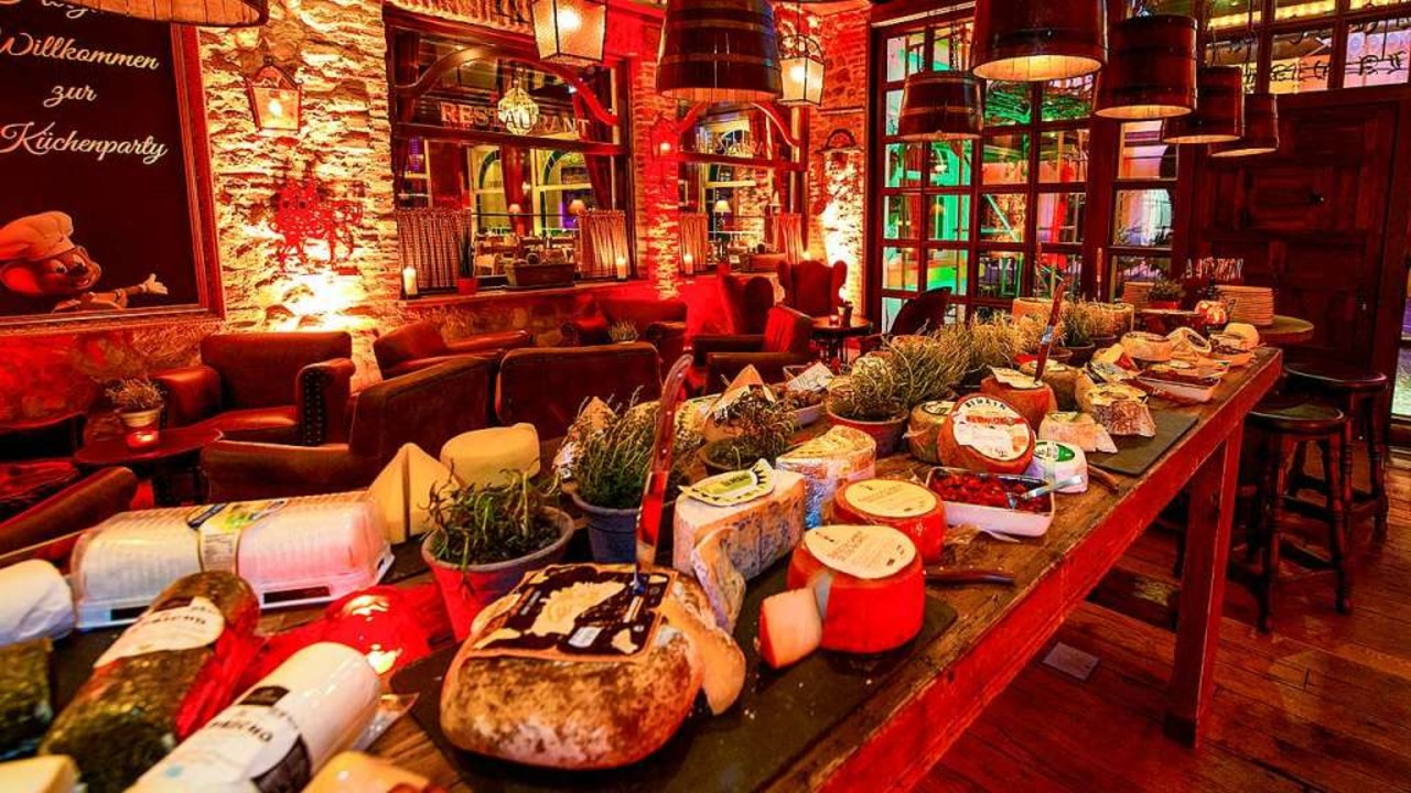Das exquisite Käse-Buffet der Küchenparty   | Foto: Europa-Park