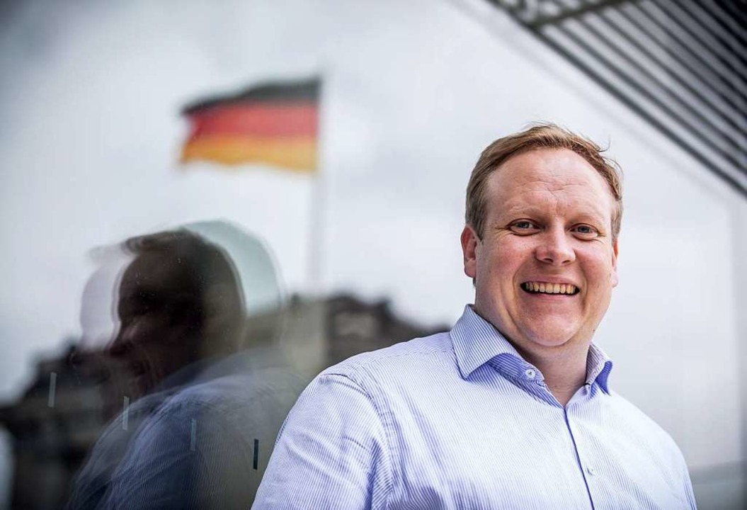 Tilman Kuban, Landesvorsitzender der Jungen Union in Niedersachsen.  | Foto: dpa