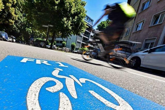 Der Landkreis Lörrach will zwei Radschnellwege
