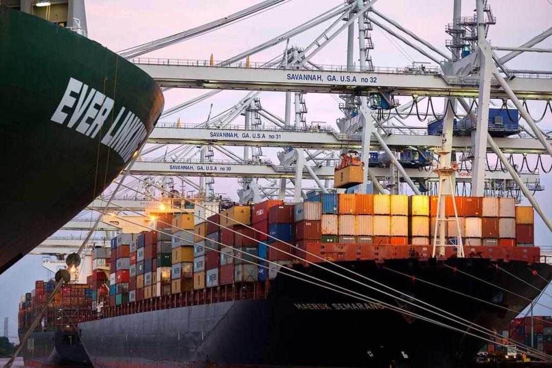 Die Reederein profitieren sogar vom Brexit.  | Foto: dpa