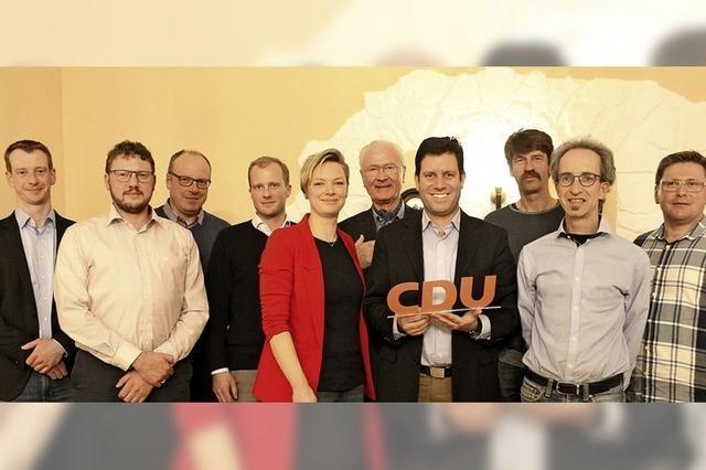 CDU kürt Gemeinderatskandidaten
