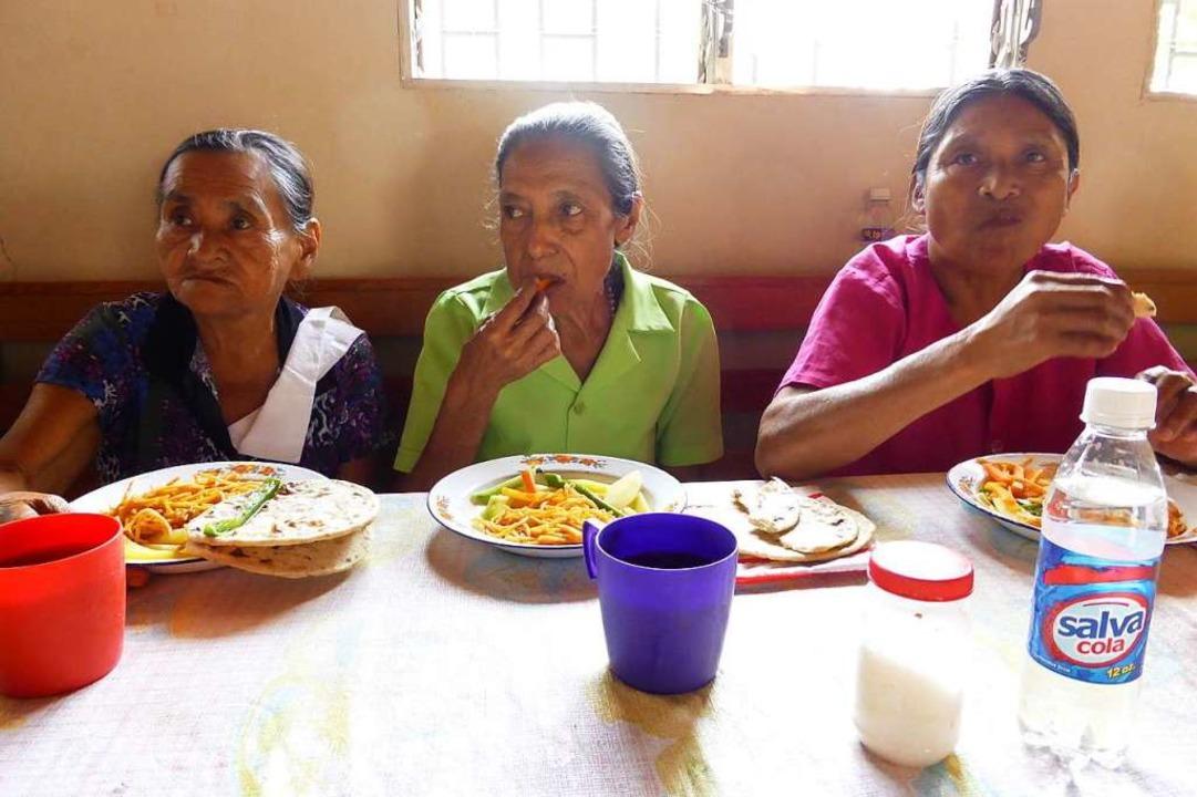 Auch alte Menschen werden nicht allein gelassen.  | Foto: privat