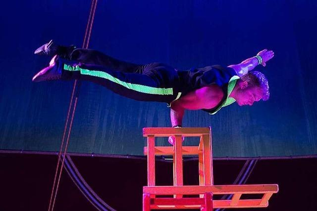 Zirkus Lamberti gibt am Wochenende Vorstellungen in Gundelfingen