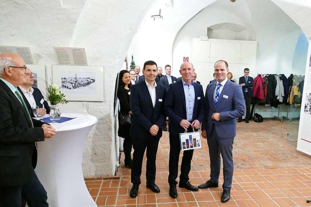 Beim 4. Waldkircher Wirtschaftsdialog ...Götzmann (r.) und  Martin Krämer (l.).  | Foto: Sylvia Sredniawa
