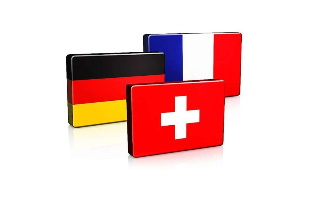 Deutschland, Frankreich und die Schweiz arbeiten am Oberrhein eng zusammen.  | Foto: Fotolia.com - Andrew Johnson