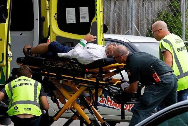 Anschlag auf Moscheen in Christchurch: Was bisher bekannt ist