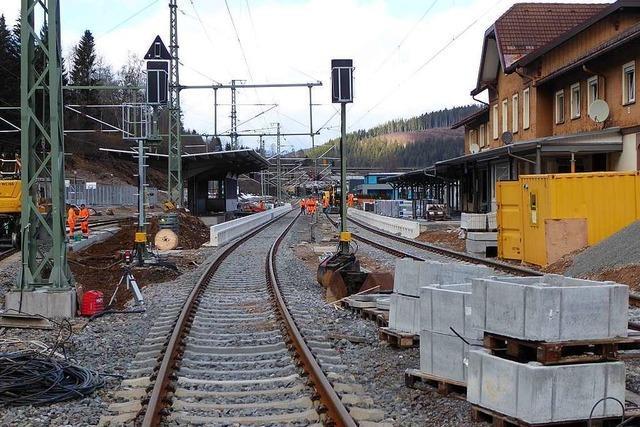 Aufzüge, Bahnschranken, Ersatzverkehr – an der Höllentalbahn gibt's noch viele Baustellen