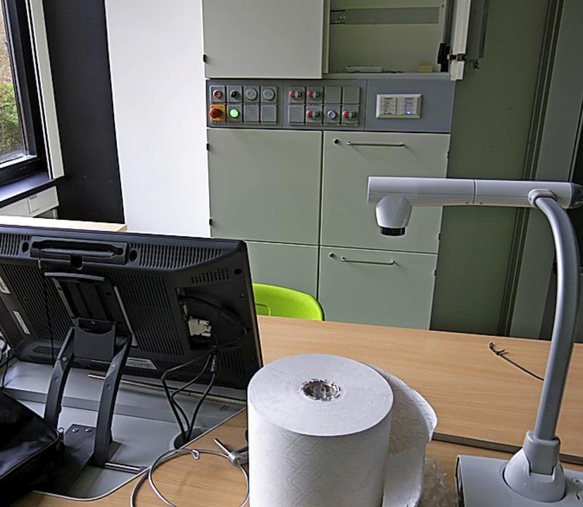 Das neue Lehrerpult für jedes Klassenzimmer  | Foto: Georg Voß