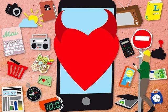Eine Hassliebe: Das Handy ist Zeitstifter und Zeiträuber