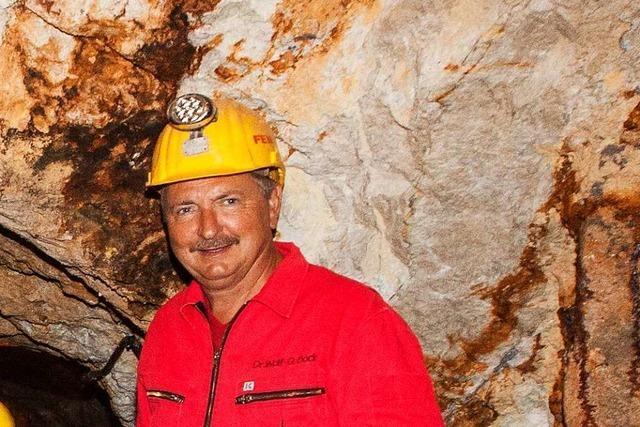 Wolf-Dietrich Bock gibt Einblicke ins Silberbergwerk Suggental