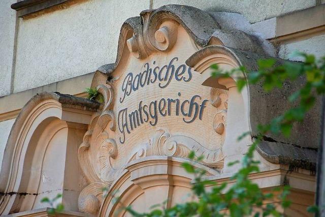 37-Jähriger randaliert in Schopfheimer Amtsgericht