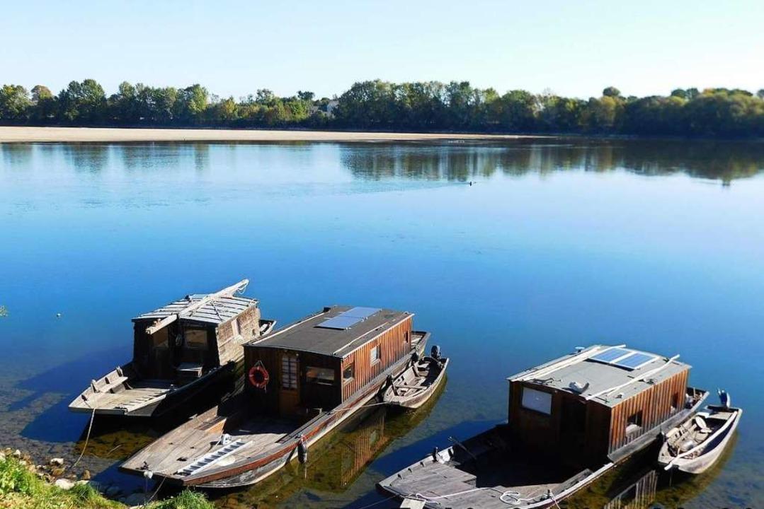 Alte Boote an den Ufern der Loire  | Foto: Andreas Strepenick