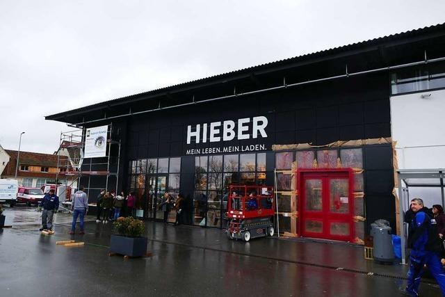 In Müllheim eröffnet am Dienstag der neue Hieber-Markt