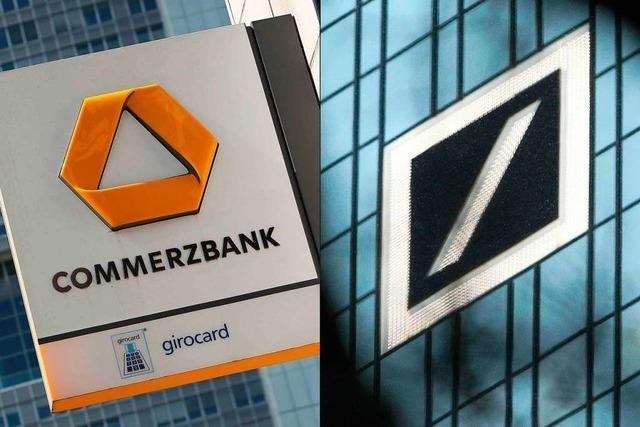 Deutsche Bank und Commerzbank offiziell auf Fusionskurs