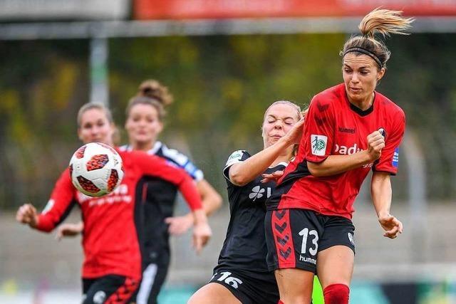 SC-Frauen verlieren gegen Wolfsburg mit 2:3