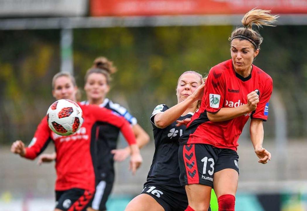 Sandra Starke erzielte einen Treffer für den SC (Archivbild).  | Foto: Patrick Seeger
