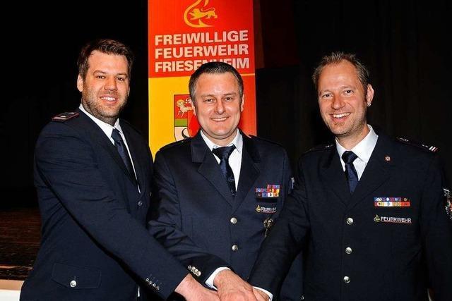 Thomas Manach wird neuer Friesenheimer Feuerwehrkommandant