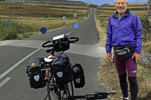 Mit dem Fahrrad von Weiden nach Santiago de Compostela