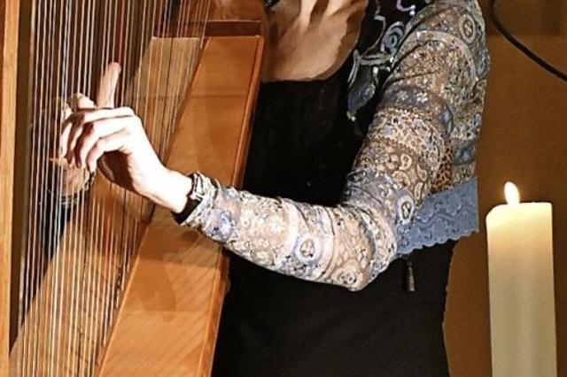 Keltische Klänge und richtige Harfen