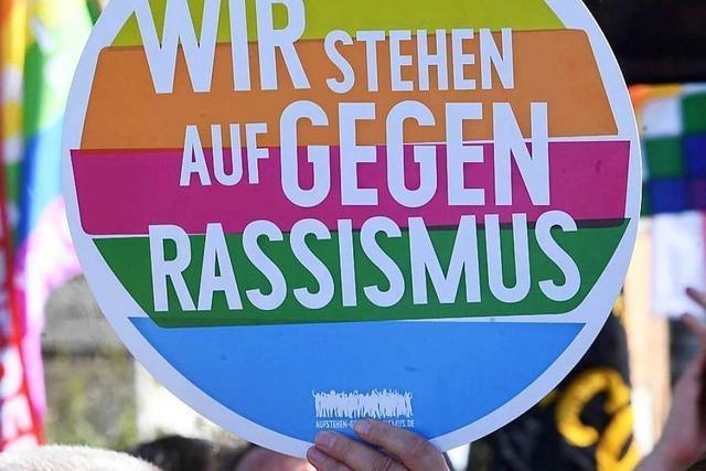 Auch in Lörrach gibt es viele Stimmen gegen Rassismus