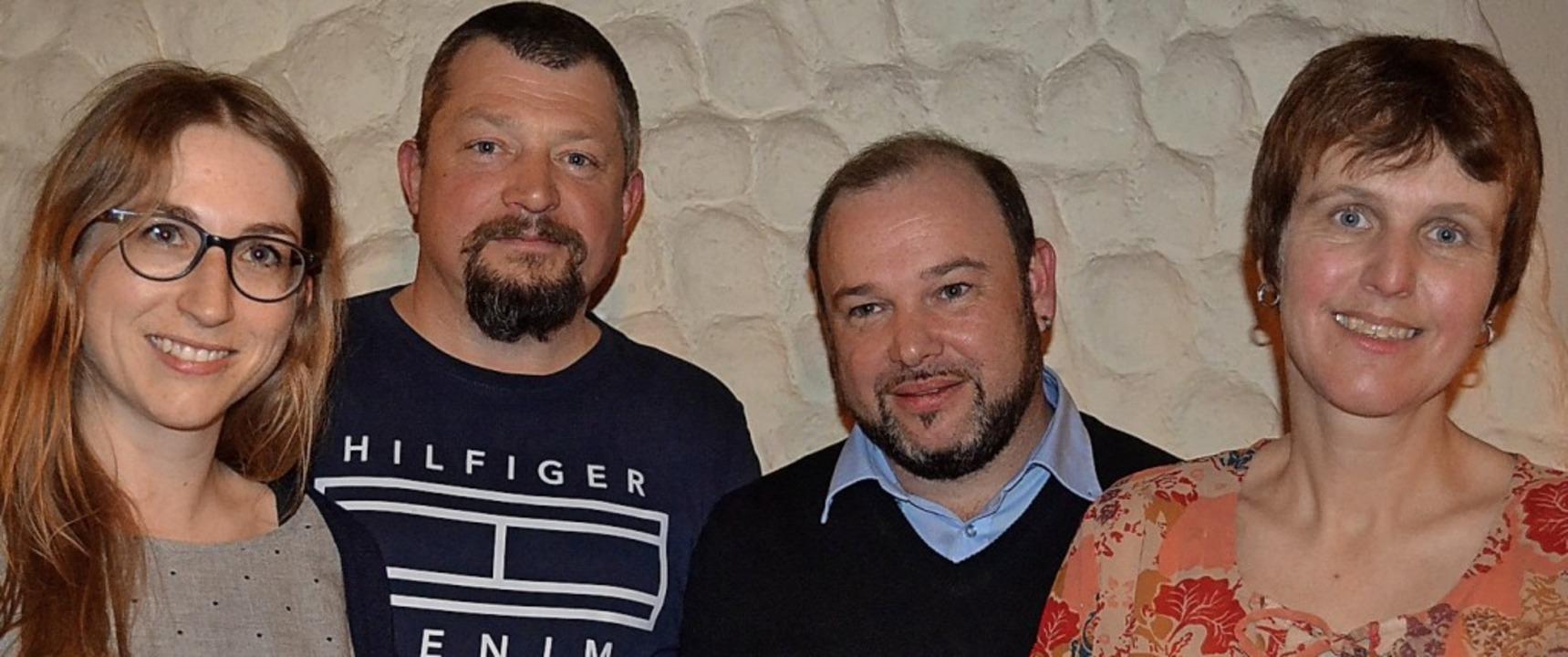 Führungskräfte im Vorstand des Musikve...s Bier, Daniel Heizmann, Silvia Disch   | Foto: Liane Schilling