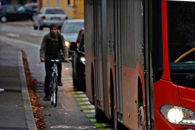 Radschutzstreifen in Offenburg sind umstritten