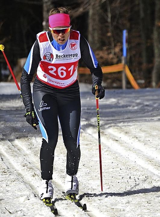 Sprintmeisterin: Amelie Wehrle