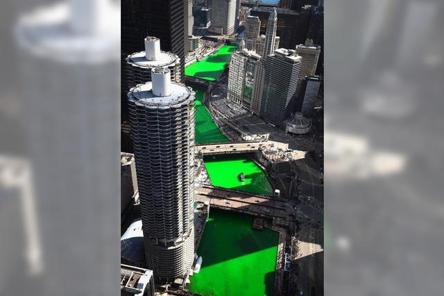 Chicago bekennt Farbe
