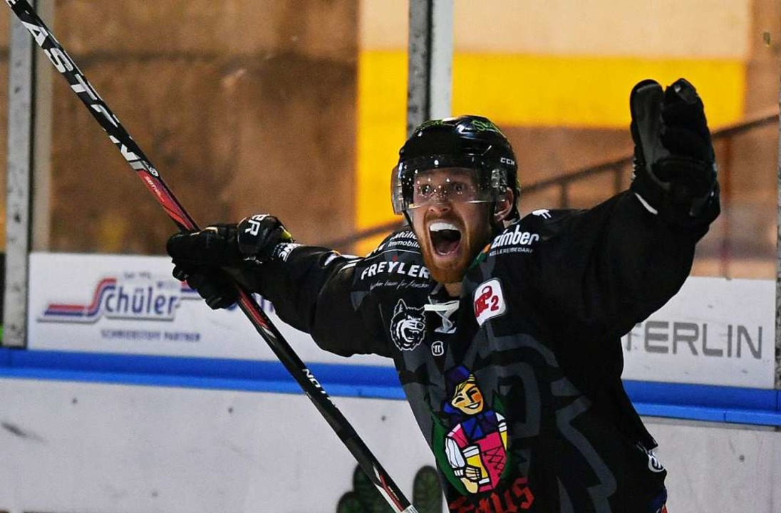 Jozef Balej erzielte den Siegtreffer &... einer nervenaufreibenden Verlängerung  | Foto: Patrick Seeger