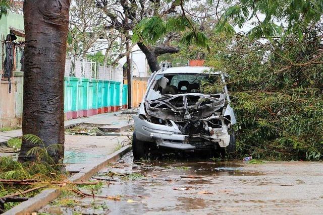 Mosambiks Präsident befürchtet nach Zyklon bis zu 1000 Todesopfer