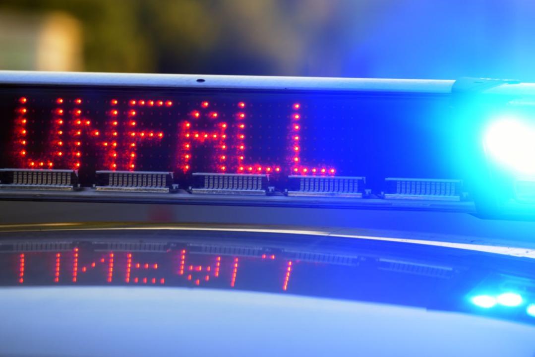 Bei einem Verkehrsunfall in der March ...ein 12-Jähriger verletzt (Symbolbild).  | Foto: dpa