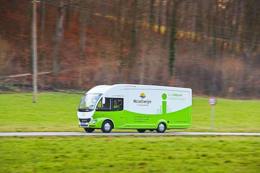 Das Mobil der Energiedienst AG    Foto: Energiedienst AG