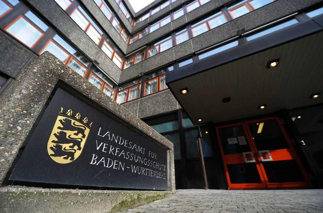Das Landesamt für Verfassungsschutz in Stuttgart  | Foto: dpa