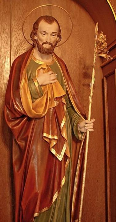 Der heilige Josef in der St. Josefs Kapelle in Hofsgrund  | Foto: Louis Groß