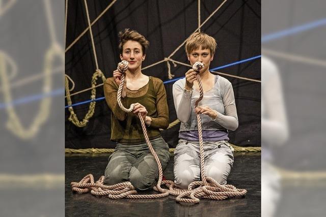 Das Freiburger Cargo-Theater präsentiert in Bad Säckingen ein Theaterstück für Kinder zum Thema Weltentstehung.