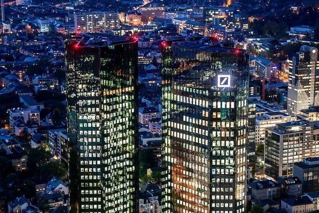 Deutschlands Großbanken flirten nun offiziell