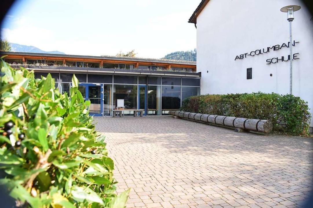 Im Blickpunkt: Die Abt-Columban-Schule in Münstertal    Foto: Frank Schoch