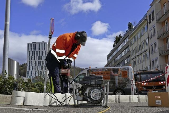 Vorbereitung für Bau des Wohn- und Geschäftshauses Lö beginnt