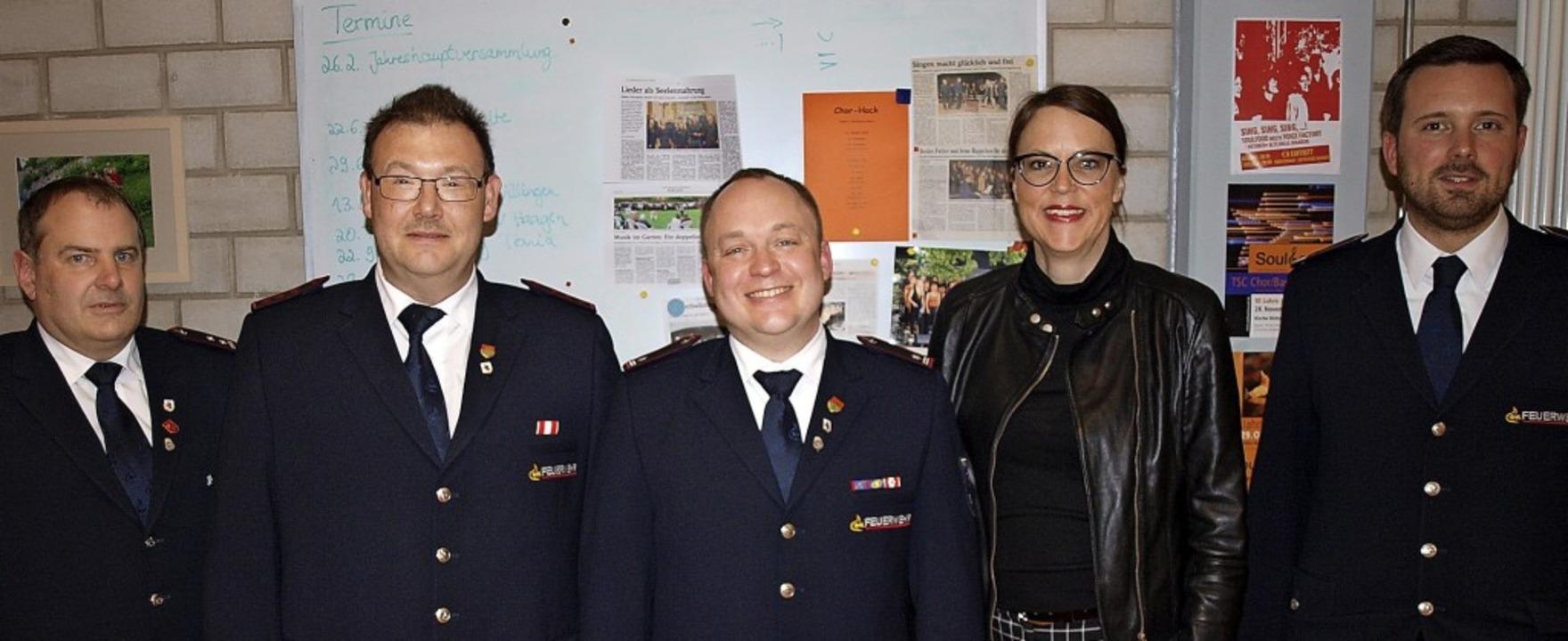 Stephan Schepperle (von links)  bei de...nika Neuhöfer-Avdic und Manuel Müller   | Foto: Paul Schleer