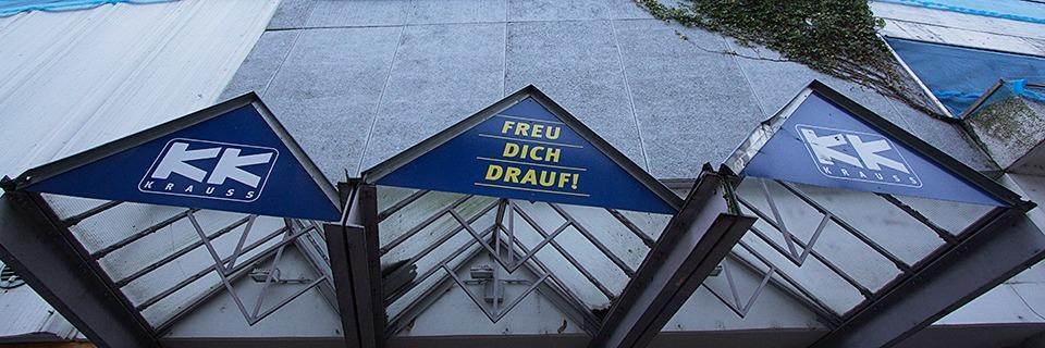 Das Kaufhaus Krauss in Emmendingen bleibt vorerst eine Ruine