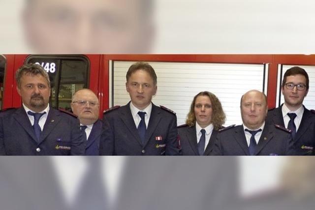 Chefwechsel bei der Feuerwehr Müllen