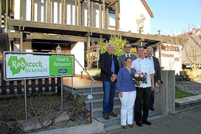 Hotel-Restaurant Rebstock hat wieder geöffnet