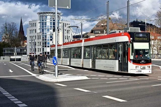 So war der erste Werktag der Freiburger Linie 5 mit neuer Streckenführung