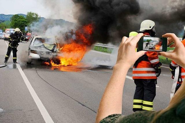 Das Land fordert Strafen für Aufnahmen von Unfalltoten